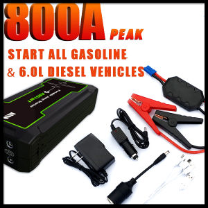 CE FCC RoHS 12V Diesel Petrol Vehicle Mini Multi-Function Car Jump Starter pictures & photos