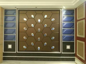 3D Acoustic Wall Panel Decorative Panel Cladding Construction Building Decoration Material Sound Absorption Soft Wall Panel pictures & photos