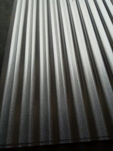 Chromated and Anti Finger G550 Galvalume Corrugated Roofing Steel Sheet pictures & photos