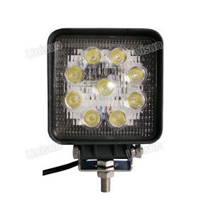 "Square 9-32V 5"" 27W LED Work Light, 4X4 Reverse Light pictures & photos"