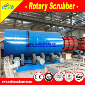 Durable Mineral Rotary Trommel Scrubber for Manganese Ore pictures & photos