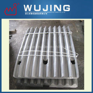High Manganese Steel Crusher Spare Parts Toggle Plate Made in China