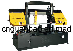 Double Column Band Sawing Machine for Metal Cutting Gd4240/70 pictures & photos