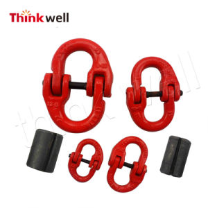 Drop Forged Alloy Steel Lifting Chain Connecting Link pictures & photos