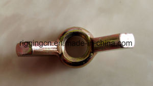 Yellow Galvnaized Wing Nut and Bolt pictures & photos