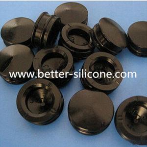 Molded Medical Silicone Rubber Elastomer Gasket for Syringe pictures & photos