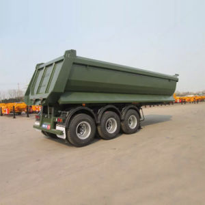 60ton 3axles Tipper Trailer Tractor Dump Trailer for Sale pictures & photos
