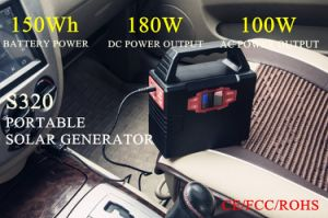 150wh Lithium Battery Solar Power Generator for Outdoor pictures & photos