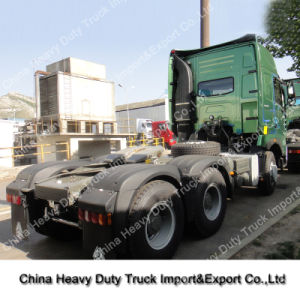 HOWO A7 380HP 10 Wheeler Semi-Trailer Tow Truck pictures & photos