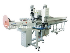 Full Automatic Crimping Machine (Both Ends) (JQ-3) pictures & photos