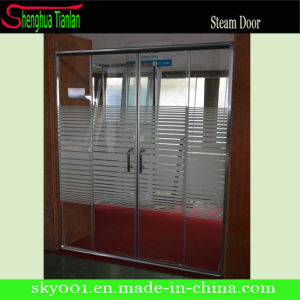 New Frame Tempered Safety Fiberglass Sliding Shower Screen (TL-8893) pictures & photos