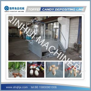Full Automatic Depositing Type Toffee Candy Production Line pictures & photos