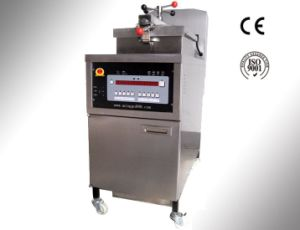 Computer Gas Pressure Fryer in Stainless Steel
