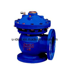 Pneumatic/Hydraulic Operator Quick Open Release Mud Valve pictures & photos