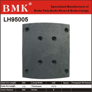 High Quality Brake Lining (LH95005) for Chinese Vehicle pictures & photos