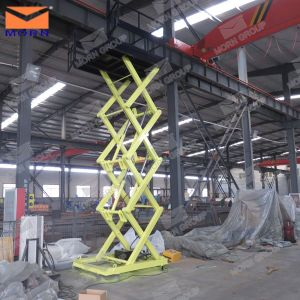 CE Approved Goods Manual Scissor Lift Platform pictures & photos