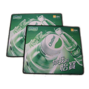 Stiching Mouse Pad with Soft Surface Skidproof Back pictures & photos