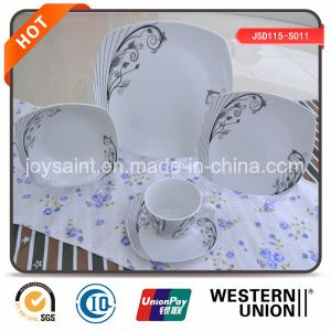 Microwave and Dishwasher Safe 20PCS Porcelain Dinnerware pictures & photos