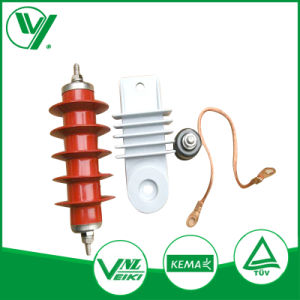 Durable Composite 30kv 10ka Class 1 High Voltage Surge Lightning Arrester pictures & photos