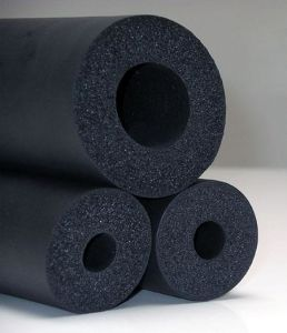 Custom Colorful Heat Resistant Rubber Insulation Foam Tube pictures & photos