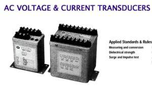 Fp-AC Voltage & Current Transducer pictures & photos