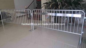 Metal Galvanized Steel Bike Rack Crowd Control Barricade/Flexibility Steel Crowd Stopper pictures & photos