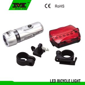 Bike Front Rear Flashlight Lamp with 10LEDs