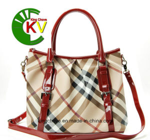 Hot and Fashion PU Ladies Handbag (KCH186) pictures & photos