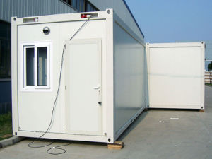 Solar Roof Prefab Container Homes with Solar Power pictures & photos