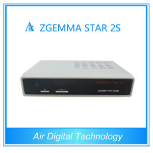 Twin Satellite HD Receiver Zgemma Star 2s DVB-S2 +S2 Twin Tuner Digital Satellite Receiver pictures & photos