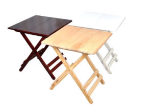 Solid Wood Outdoor Folded Table Garden Table (M-X1030) pictures & photos