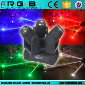 Mini 3X10W RGBW 4in1 LED Beam Moving Head Light pictures & photos