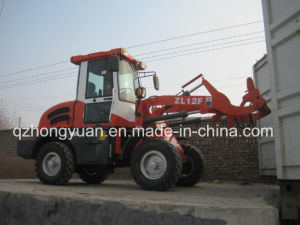 1.2ton Wheel Loader Zl12f with 37kw 4 Cylinder Engine pictures & photos