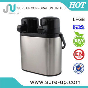 Twin Stainless Steel Vacuum Air Pot with Glass Liner (AGUV) pictures & photos