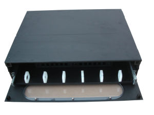 ODF Slidable Rack Mount Type Patch Panel 24 Cores pictures & photos