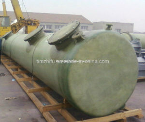 FRP Tanks with Level Roof Platform pictures & photos