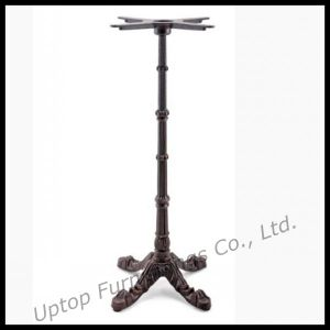 Classical Black Cast Iron High Table Base (SP-MTL109) pictures & photos