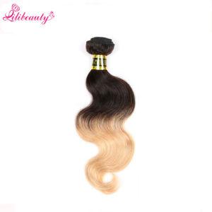 Hot Popular Pure Ombre Indian Virgin Hair Bundles pictures & photos