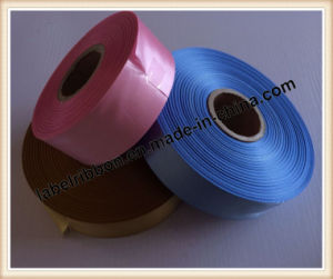 Single Side Printing Woven Edge Polyester Satin (SW500) pictures & photos