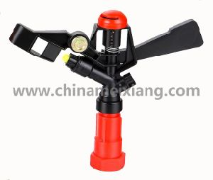 G3/4′′full Circle Gardens Plastic Impulse Sprinkler Agriculture Irrigation Sprinkler (Double Brass nozzles) (MX9501) pictures & photos