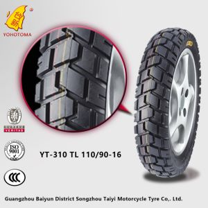 China Top Quality Motorcycle Tire Yt-310 Tl 110/90-16 pictures & photos