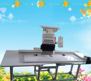 High Speed & Large Embroidery Area Single Head Embroidery Machine
