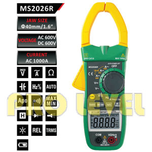 6000 Counts Digital AC Clamp Meter (MS2026R) pictures & photos