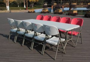 8 Foot Outdoor Table Folding Chair Set (SY-240Z) pictures & photos