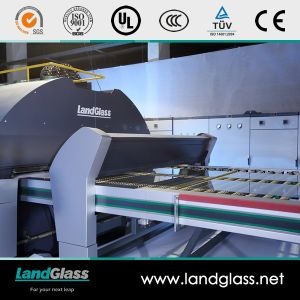 Landglass Electric Heating Furnace Horizontal Glass Tempering Furnace pictures & photos