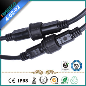 M24 Waterproof Cable Assembly with Circular Connector 5 Pins