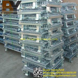 Storage Basket Wire Mesh Cage pictures & photos