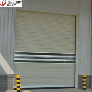 Automatic Secure and Soundproof High Security Hard Metal Rolling Door pictures & photos