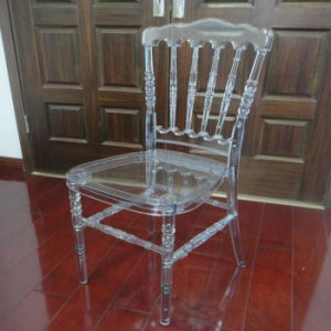 Transparent Napoleon Chair in PC Resin pictures & photos