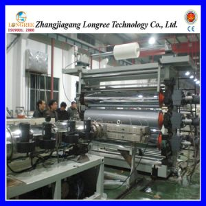 Pet/PVC/PE Plastic Sheet Extrusion Line, 0.2-2.0mm Thick Sheet Extruder Machine pictures & photos